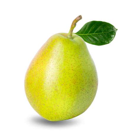pears isolated on white background Zdjęcie Seryjne