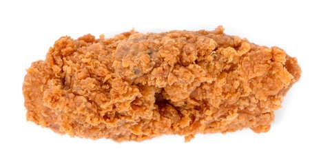 Fried chicken isolated on white background Zdjęcie Seryjne