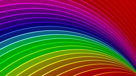 Awesome 3d rainbow background  Stock Photo