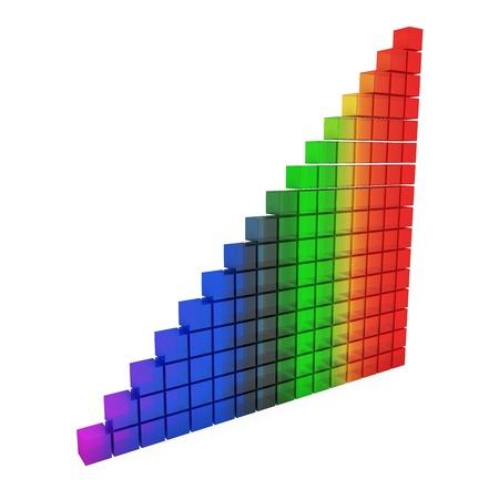 rainbow glass graphic Stock Photo - 9805616