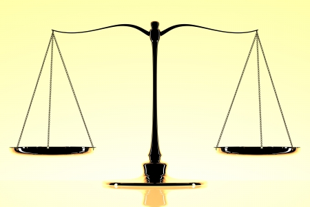 trial balance:  scale