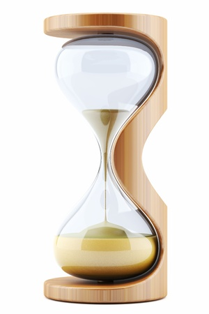 savings risk: hourglass