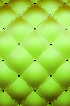 3d green leather photo