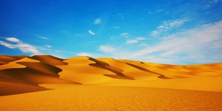thar: Desert   blue sky