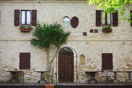 old italian patio