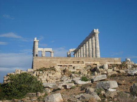 Greek Pantheon Stok Fotoğraf