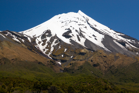 egmont: Peak of the Mountain - Taranaki Mount Egmont Summit White Cap