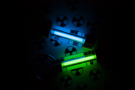 of irradiated: Radioactive lights GTLS - gaseous tritium light source