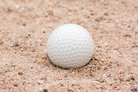 blunder: Golf Ball in Sand