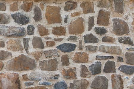 basalt: Stone basalt wall - background texture. Stock Photo