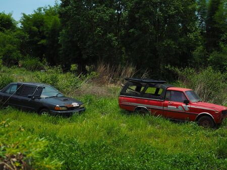 Pictures from the old car cemetery in Thailand.