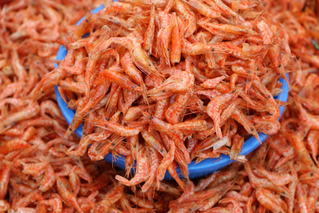 boils: dried shrimp
