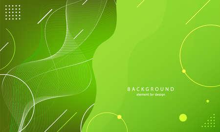 Abstract wave background. Element for design. Digital frequency track equalizer. Stylized line art. Curved wavy line smooth stripe. Vector. Ilustração