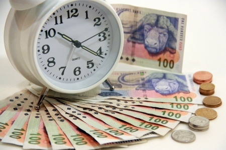 running out of time: clock and money