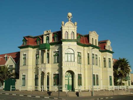 swakopmund: Hohenhollern Building in Swakopmund in Namibia