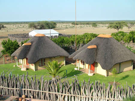 nationalpark: An African Lodge in a Nationalpark in Namibia