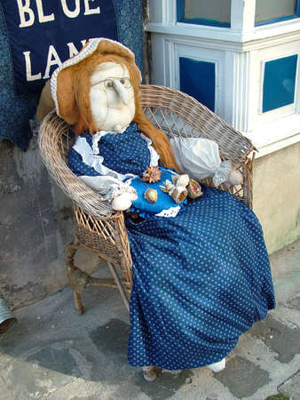 A stuffed doll in Hungary  photo