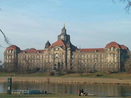 chancellerie: Chancellerie d'�tat de Saxe � Dresde