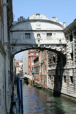 The Famous Bridge Of Sighs In Venice photo