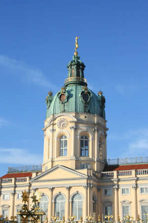 aristocratic: Charlottenburg in Berlin Germany
