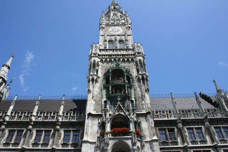 Munich Townhall in Germany  photo