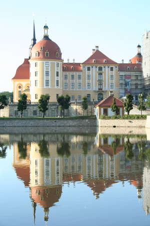 German Castle in Moritzburg photo
