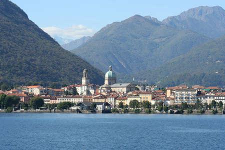 piedmont: The town Intra Verbania on Lake Maggiore