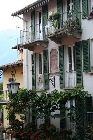 Facade of a building in Italy