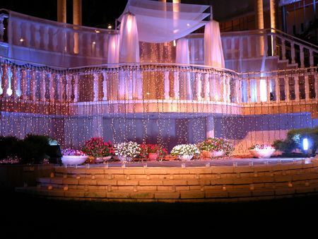 kupa venue wedding on the second floor of a bright memorable place Stock Photo - 7067736