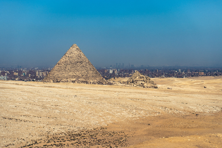 Pyramid of Menkaure. Giza, Cairo, Egypt.