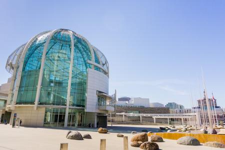 The City Hall of San Jose, California Editorial