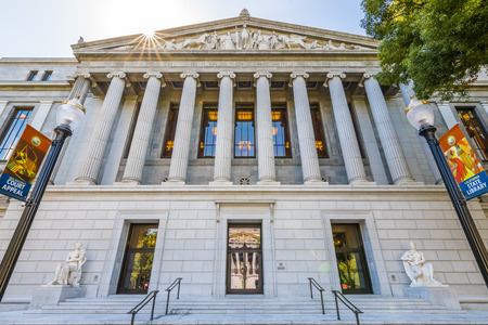 September 22, 2018 Sacramento / CA / USA - The Stanley Mosk Library and Courts Building housing the Court of Appeal, Third Appellate District and the California State Library Redakční