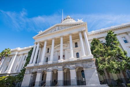 California State Capitol building, Sacramento, Californie
