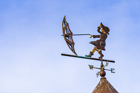 Weather vane in San Francisco, California