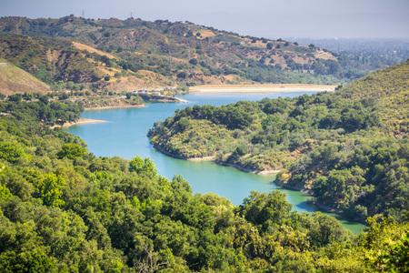 Stevens Creek Reservoir, Santa Clara county, San Francisco bay area, California Stock fotó - 115258319