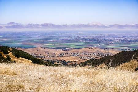 Views towards Salinas from Toro Park, California