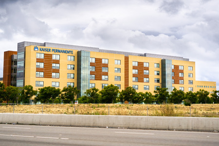 May 26, 2019 San Leandro / CA / USA - Kaiser Permanente San Leandro Medical Center in East San Francisco bay area