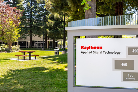 June 1, 2019 Sunnyvale  CA  USA - Raytheon Applied Signal Technology (AST) offices in Silicon Valley, South San Francisco bay area; Raytheon acquired AST in 2010 Redakční