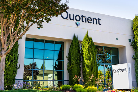 August 1, 2019 Sunnyvale  CA  USA - Quotient Limited (QTNT) offices in Silicon Valley; Quotient operates in the health care industry in the commercial-stage diagnostics area