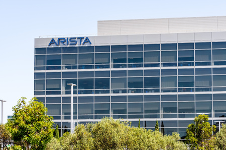 July 30, 2019 Santa Clara  CA  USA - Arista Networks (previously Arastra) is a computer networking company headquartered in Silicon Valley; The company designs and sells multilayer network switches
