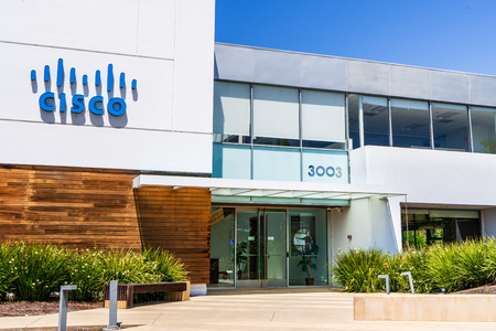 August 7, 2019 Santa Clara  CA  USA - CISCO IoT Cloud business unit (formerly Jasper Technologies, Inc) offices in Silicon Valley;
