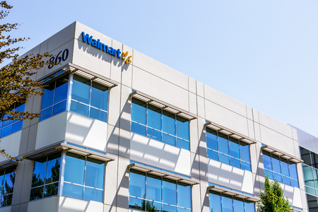 August 12, 2019 Sunnyvale / CA / USA - Walmart Labs offices, a subsidiary of Walmart focusing on eCommerce and other technology related areas, in order to operate efficiently and maintain low prices