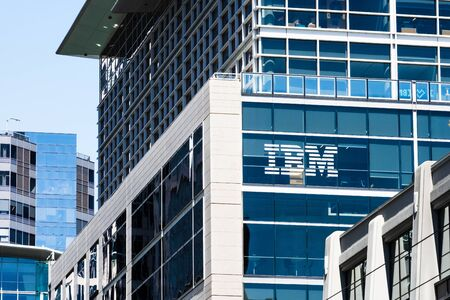 August 21, 2019 San Francisco / CA / USA - IBM headquarters located in SOMA district, downtown San Francisco