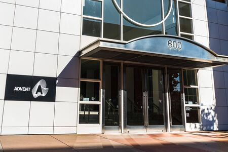Sep 20, 2019 San Francisco / CA / USA - SS&C Advent, formerly known as Advent Software (subsidiary of  SS&C Technologies) headquarters; SS&C Advent offers automate portfolio accounting solutions