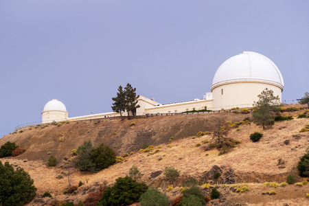 The historical Lick Observatory (owned and operated by the University of California) on top of Mt Hamilton; San Jose, San Francisco bay area, California
