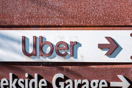 Oct 24, 2019 Palo Alto / CA / USA - Uber sign guiding you to the company's offices in Silicon Valley; Uber Technologies, Inc. is an American multinational transportation network company (TNC) Sajtókép