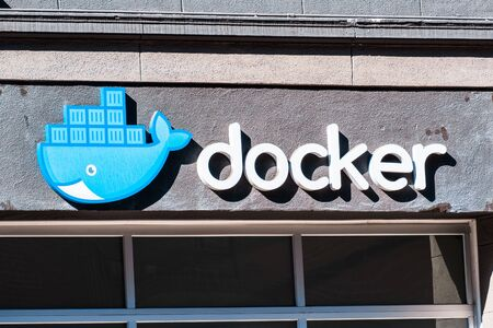 Nov 2, 2019 San Francisco  CA  USA - Docker, Inc headquarters, the company behind development of Docker, an open-source project that automates the deployment of code inside software containers