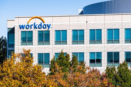 Nov 15, 2019 Pleasanton  CA  USA - Workday headquarters in Silicon Valley; Workday, Inc. is an on‑demand (cloud-based) financial management and human capital management software vendor Editorial