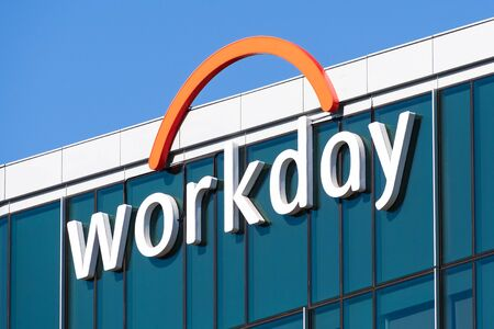 Nov 15, 2019 Pleasanton  CA  USA - Workday headquarters in Silicon Valley; Workday, Inc. is an on‑demand (cloud-based) financial management and human capital management software vendor Redakční