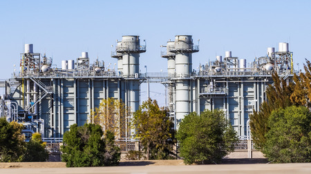 Natural Gas-Fired, Combined-Cycle Power Plant equipped with emissions control technology Editorial